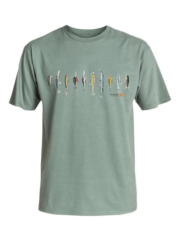 0 Men's Lured T-Shirt  AQMZT03120 Quiksilver