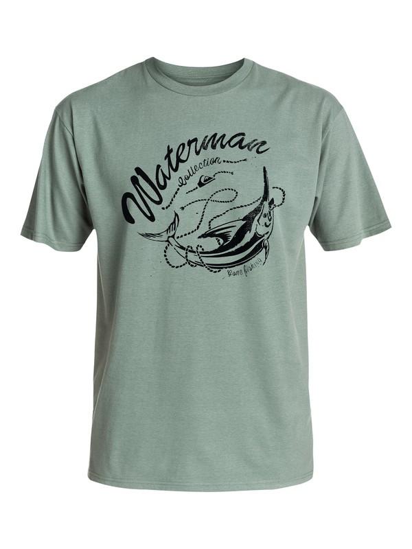 0 Men's Big Game T-Shirt  AQMZT03123 Quiksilver
