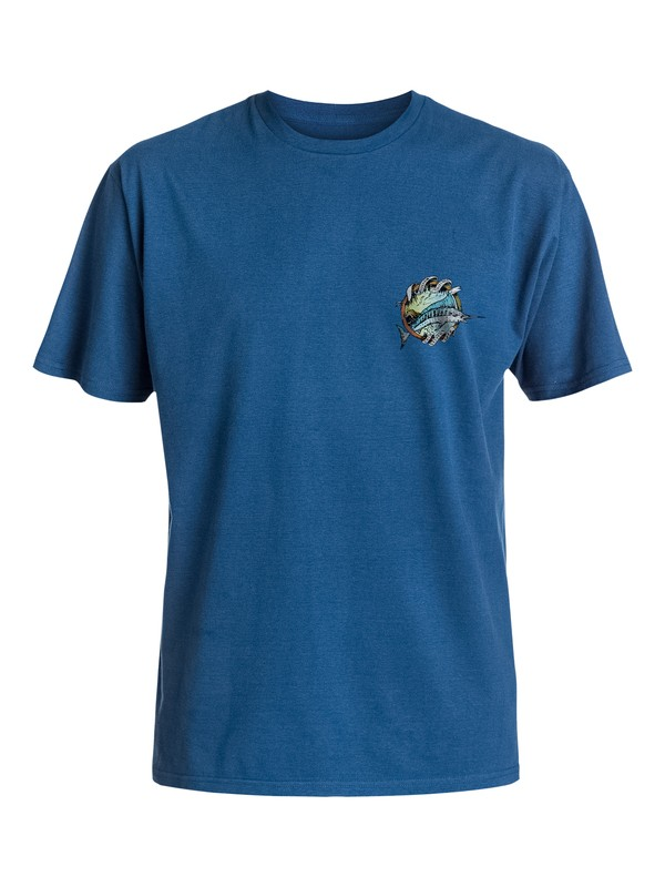 0 Men's Cali Fish T-Shirt  AQMZT03126 Quiksilver
