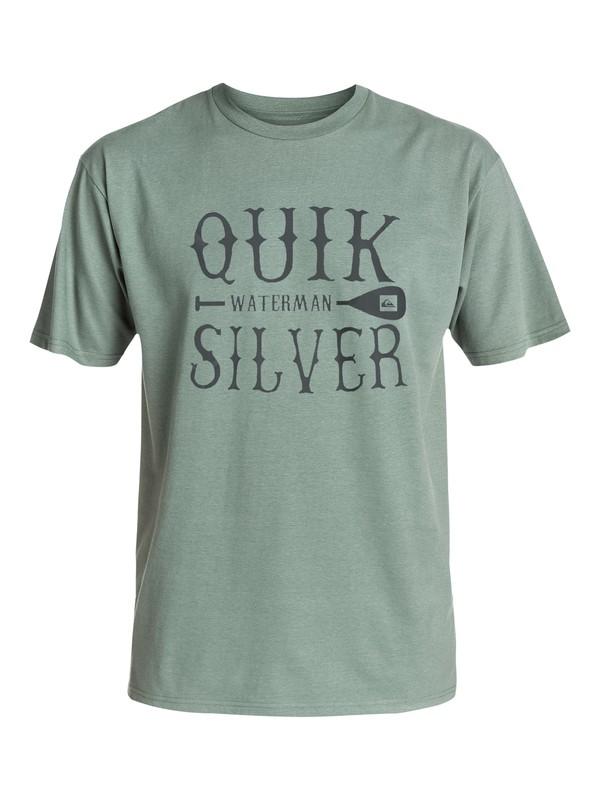 0 Men's Deep Ocean T-Shirt  AQMZT03127 Quiksilver