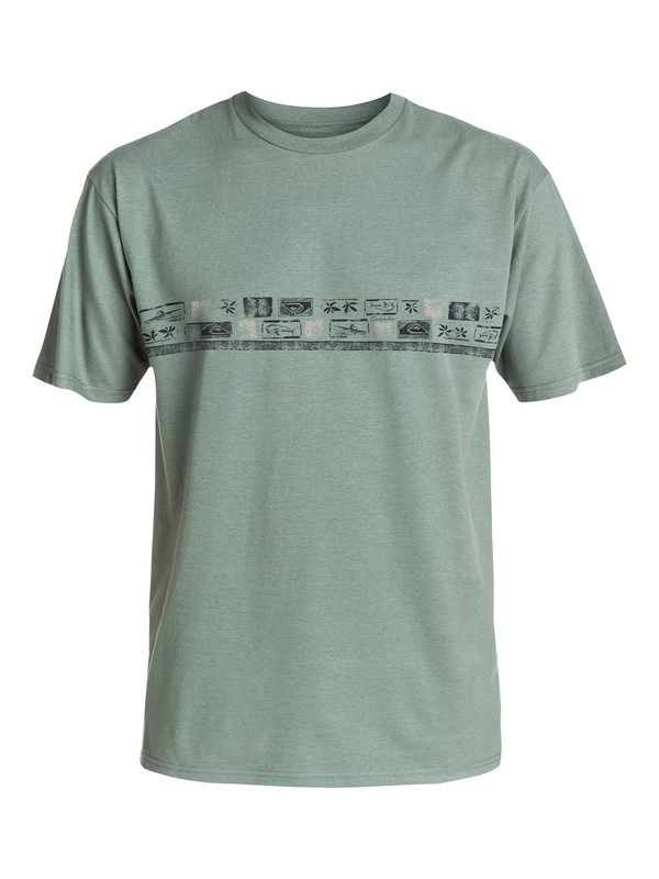 0 Men's Island Chain T-Shirt  AQMZT03129 Quiksilver
