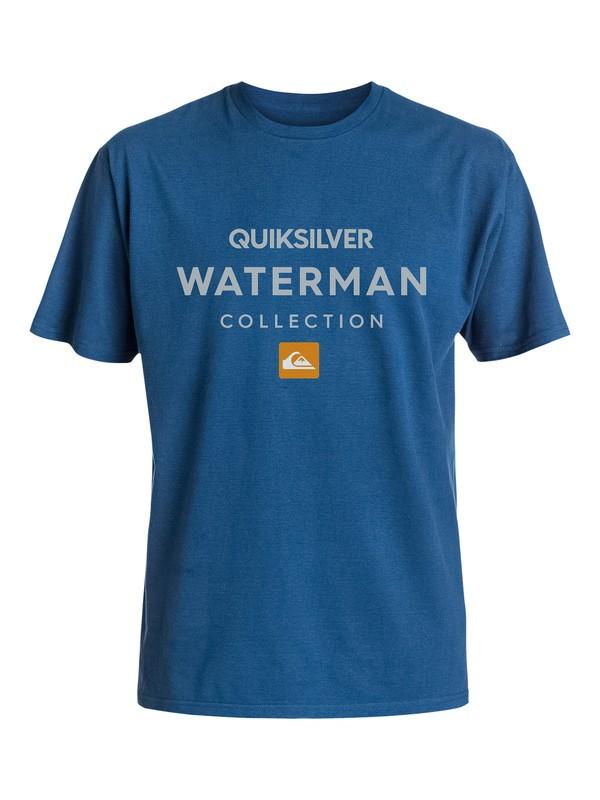 0 Men's Heavy Waters Tee  AQMZT03132 Quiksilver