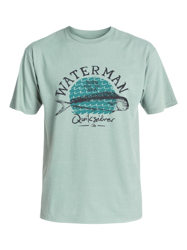 0 Waterman Good Eats T-Shirt  AQMZT03157 Quiksilver