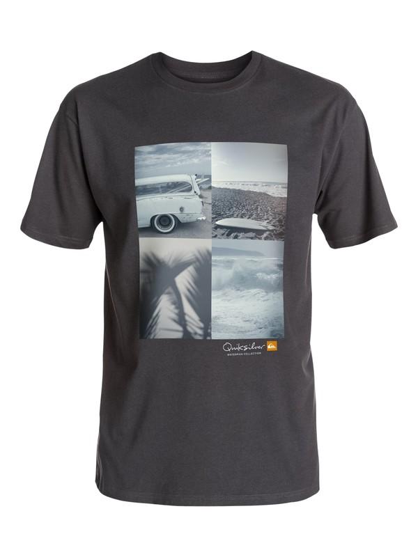 0 Waterman Quad View T-Shirt  AQMZT03165 Quiksilver