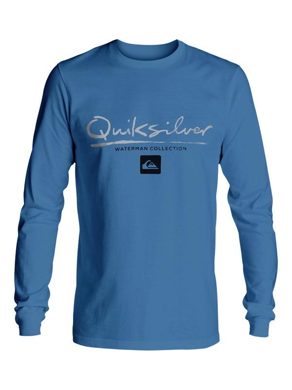 0 Waterman Gut Check Long Sleeve Tee  AQMZT03184 Quiksilver