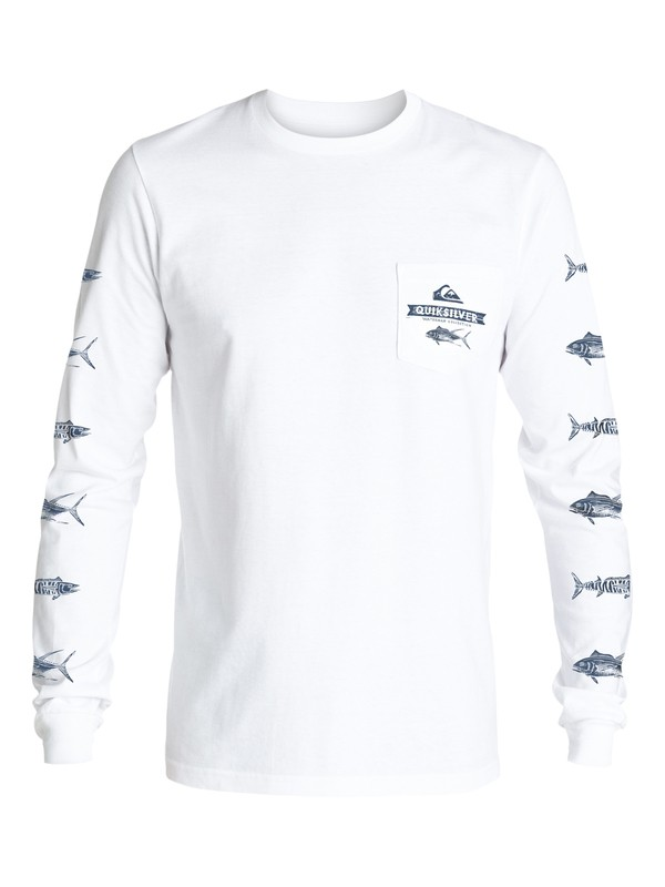 0 Waterman Open Ocean Long Sleeve Tee  AQMZT03199 Quiksilver