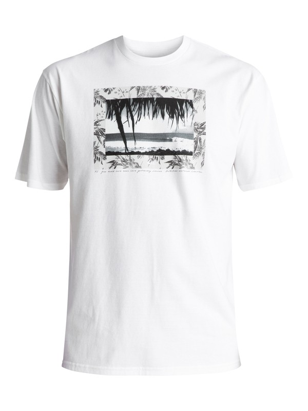 0 Waterman Lennoxt Tee White AQMZT03241 Quiksilver