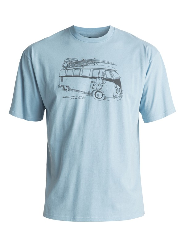 0 Waterman Mexican Tee Blue AQMZT03243 Quiksilver