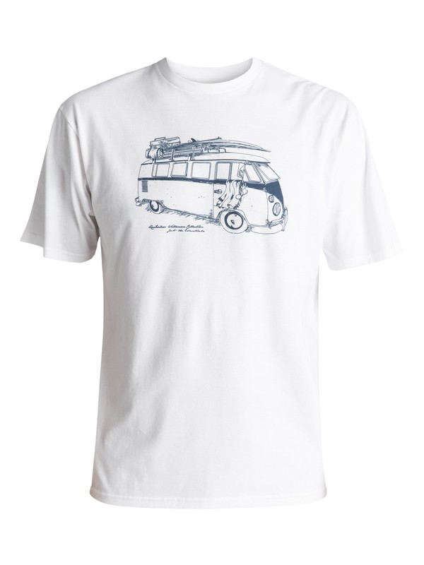 0 Waterman Mexican Tee White AQMZT03243 Quiksilver