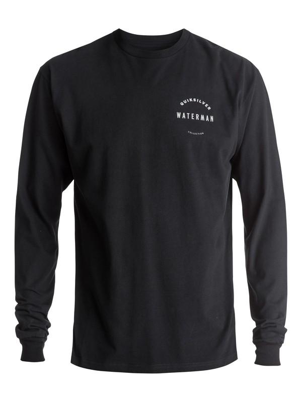 0 Waterman WTR Defined Long Sleeve Tee Black AQMZT03255 Quiksilver