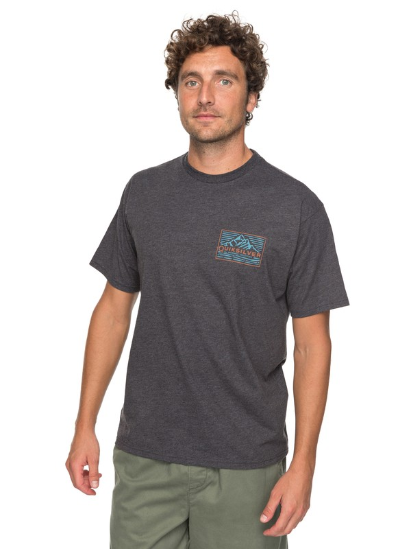 0 Waterman Delight Tee Black AQMZT03280 Quiksilver