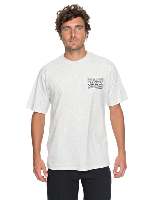 0 Waterman Delight Tee White AQMZT03280 Quiksilver