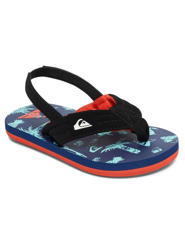 0 Boy's 2-7 Molokai Layback Sandals Multicolor AQTL100004 Quiksilver