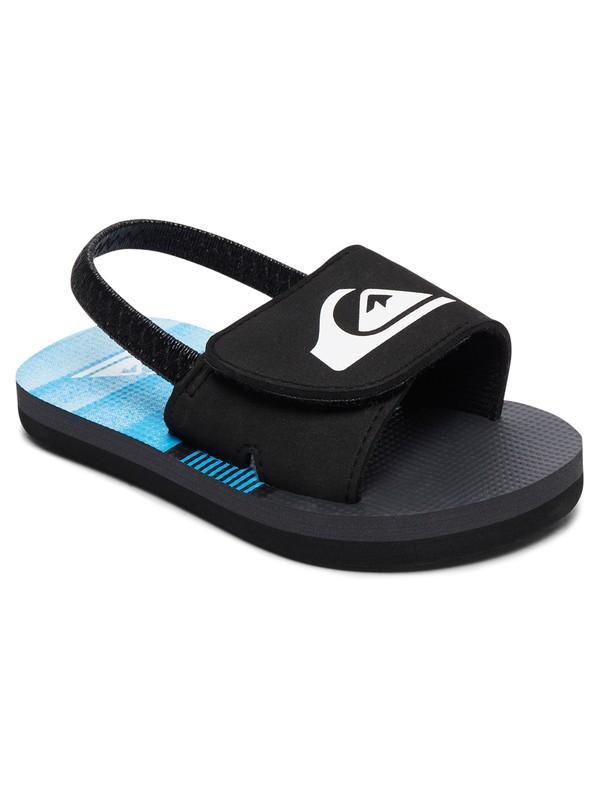 0 Molokai Layback Slide - Slider Sandals Black AQTL100005 Quiksilver