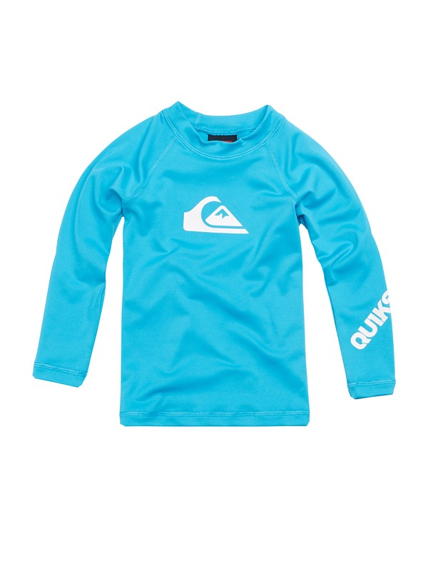 0 Boys 2-4 All Time Long Sleeve Rashguard  AQTWR00009 Quiksilver