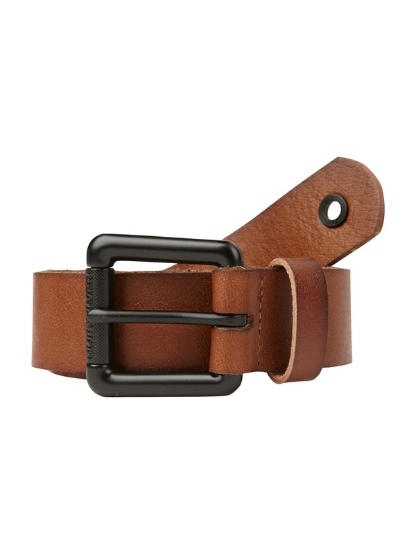 0 Flipside Leather Belt  AQYAA00033 Quiksilver