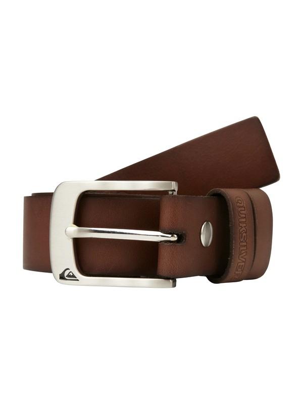 0 Survey Leather Belt  AQYAA00038 Quiksilver