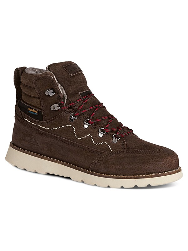 0 Acllas - Lace-Up Boots Brown AQYB700017 Quiksilver