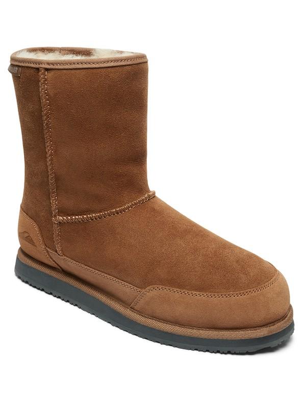0 Abatt - Winter Boots Brown AQYB700033 Quiksilver