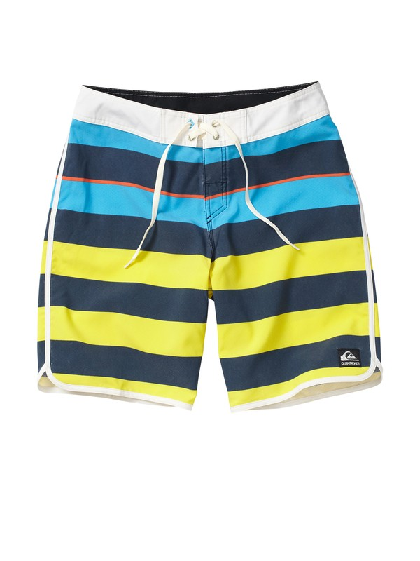 "0 Cypher Brigg Scallop 4 20"" Boardshorts  AQYBS00039 Quiksilver"