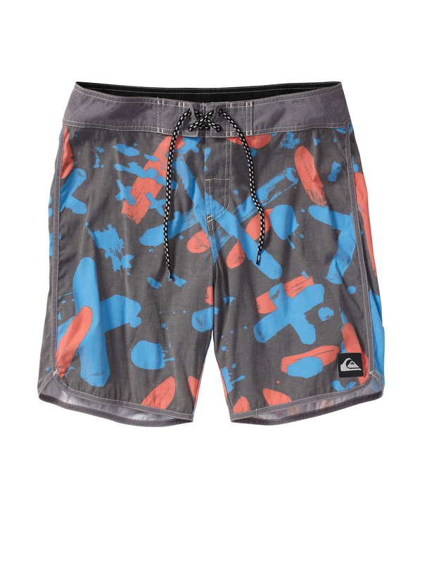"0 OG Scallop Print 19"" Boardshorts  AQYBS00158 Quiksilver"