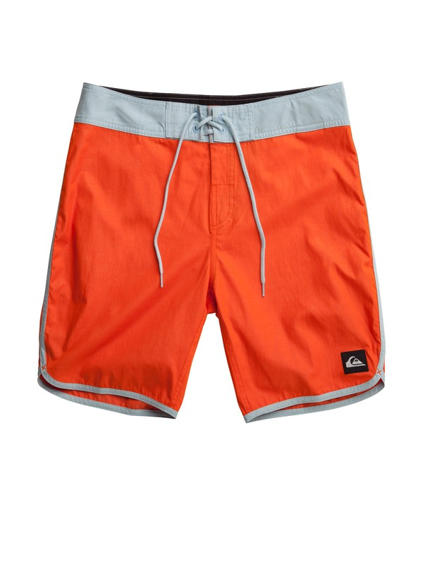 "0 OG Scallop Solid 19"" Boardshort  AQYBS00406 Quiksilver"