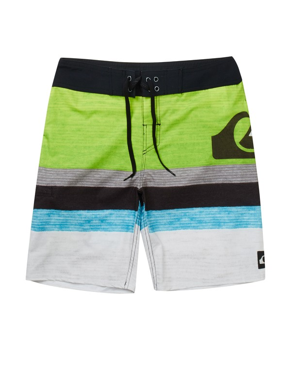 "0 Striped 19"" Boardshorts  AQYBS00411 Quiksilver"