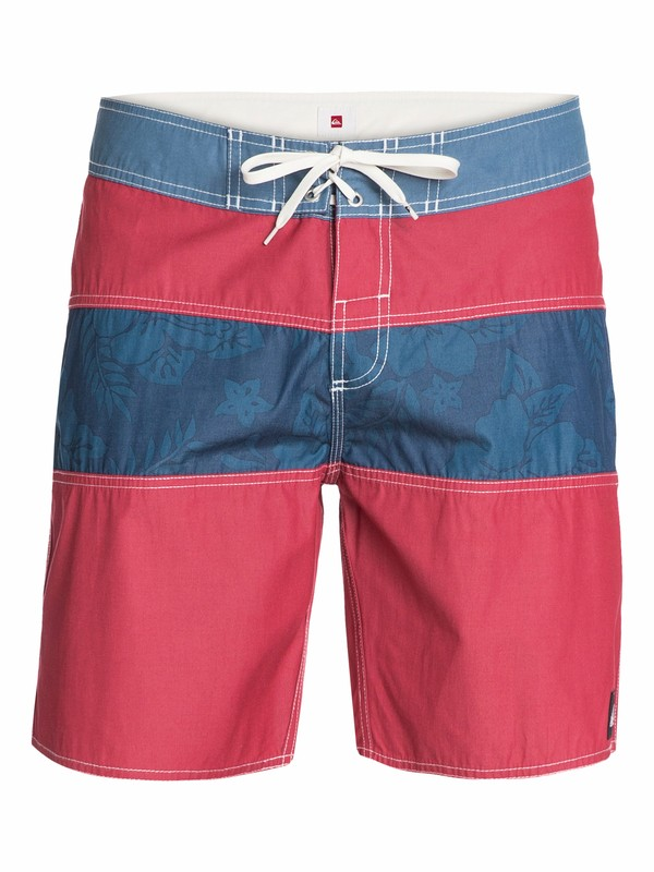 "0 Stripe Floral 18"" Boardshorts  AQYBS03000 Quiksilver"