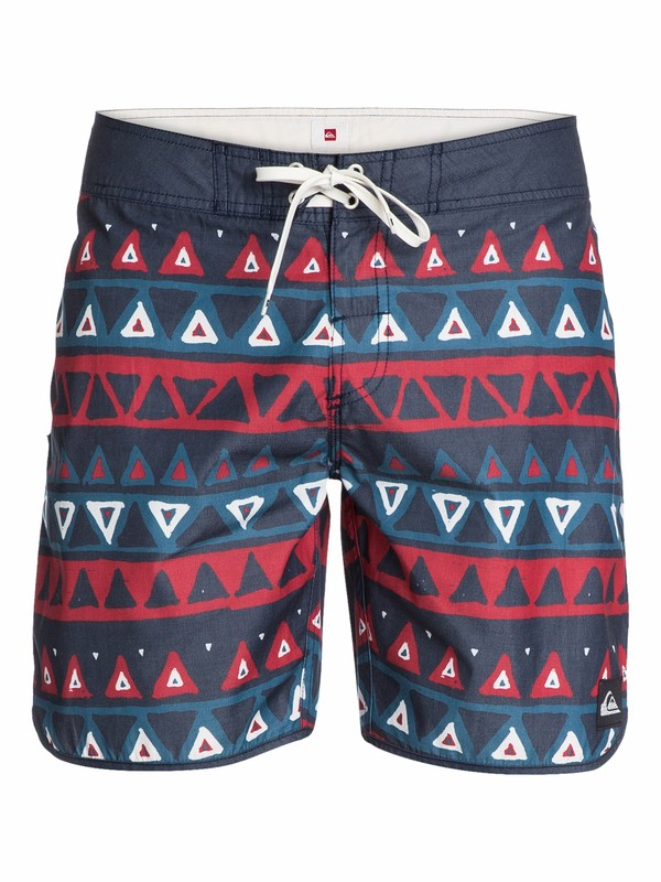 "0 Scallop Print 18"" Boardshorts  AQYBS03003 Quiksilver"