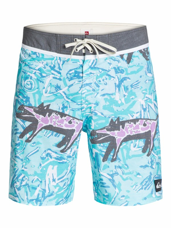 "0 Ghetto Yoke 18"" Boardshorts  AQYBS03096 Quiksilver"
