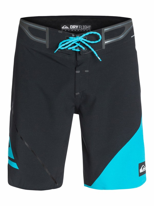 "0 AG47 New Wave Bonded 19"" Boardshorts  AQYBS03127 Quiksilver"