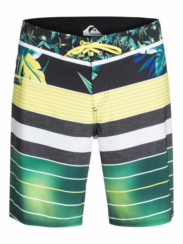 "0 YG Remix Stripe 19"" Repreve Boardshorts  AQYBS03132 Quiksilver"