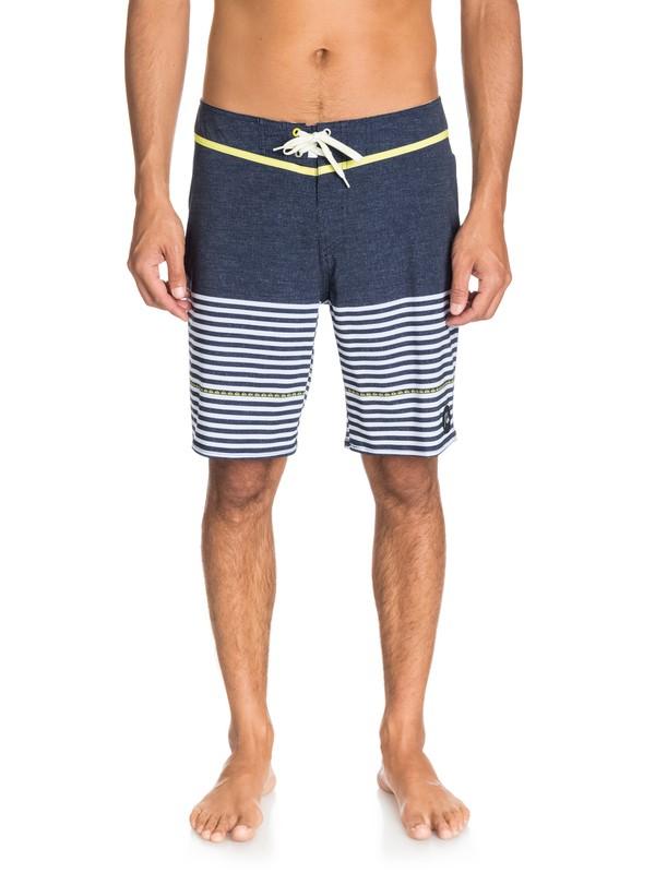 """0 East Side Stripe 19"""" Boardshorts  AQYBS03152 Quiksilver"""