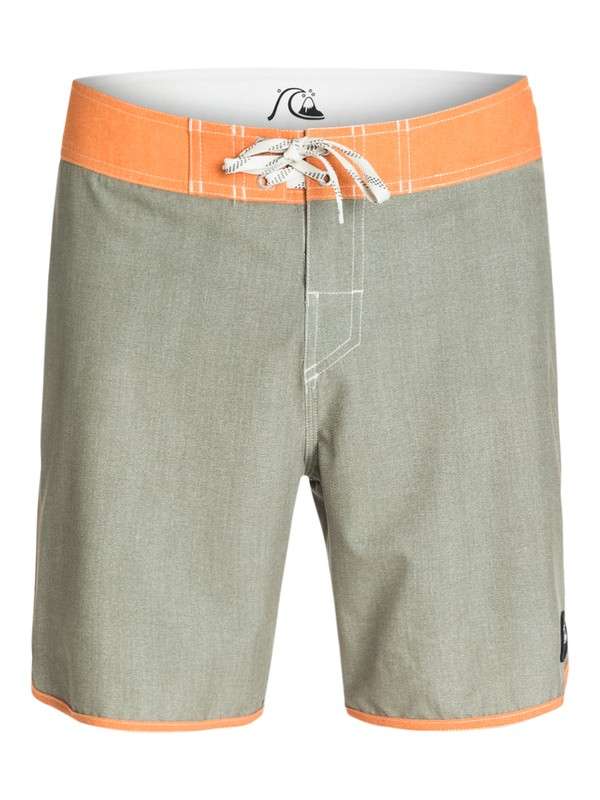 "0 Everyday Texture Scallop 18"" Repreve Boardshorts  AQYBS03155 Quiksilver"