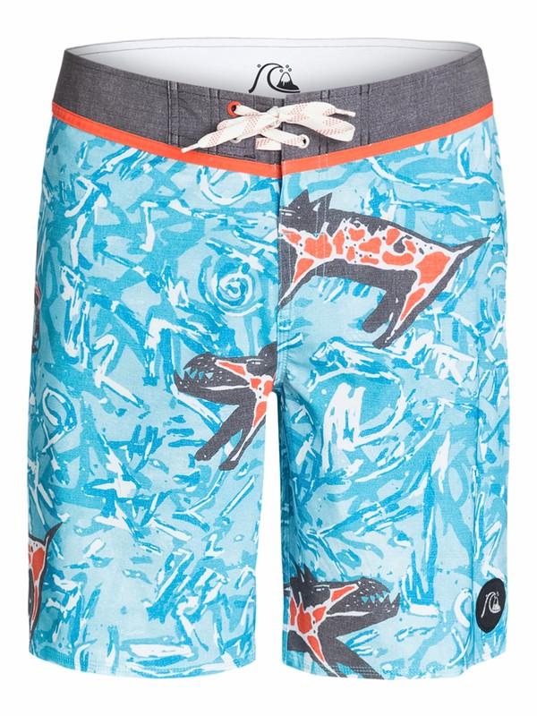"0 Ghetto Yoke 19"" Boardshorts  AQYBS03201 Quiksilver"
