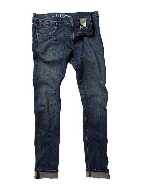 """0 Zeppelin Skinny Fit Jeans, 32"""" Inseam  AQYDP00003 Quiksilver"""