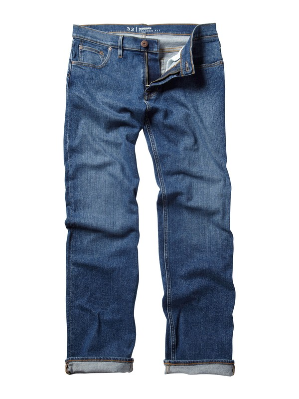 "0 Double Up Jeans, 30"" Inseam  AQYDP00032 Quiksilver"