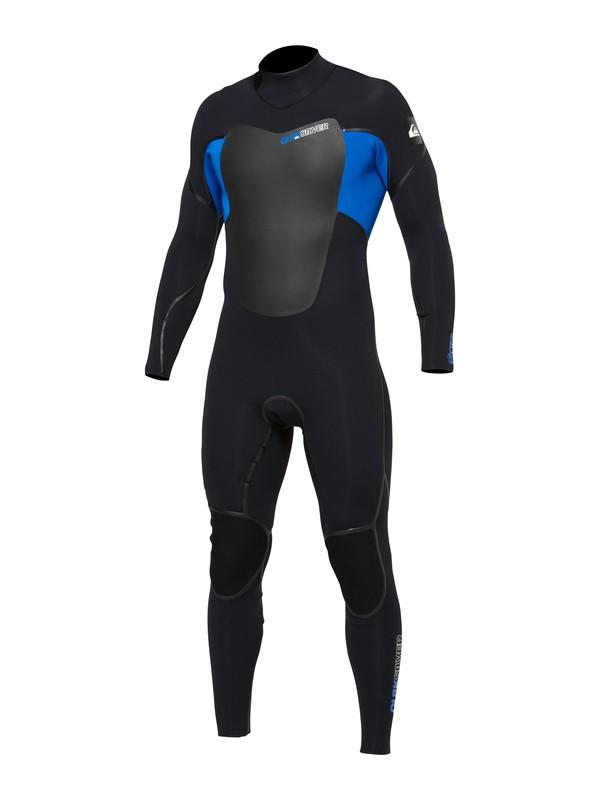 0 Pyre 3/2 Back Zip Wetsuit Black AQYFL00014 Quiksilver