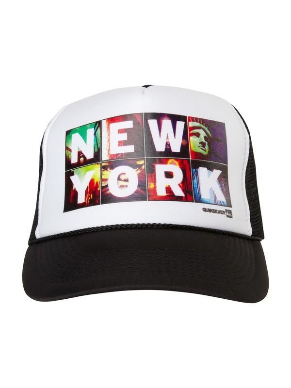 0 NY Icons Trucker Hat  AQYHA00290 Quiksilver