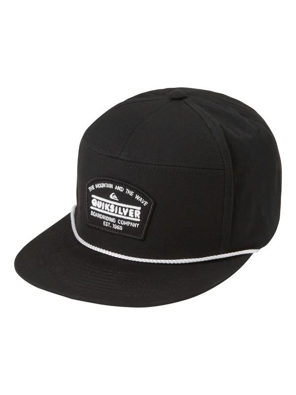 0 Poker Hat Black AQYHA03018 Quiksilver