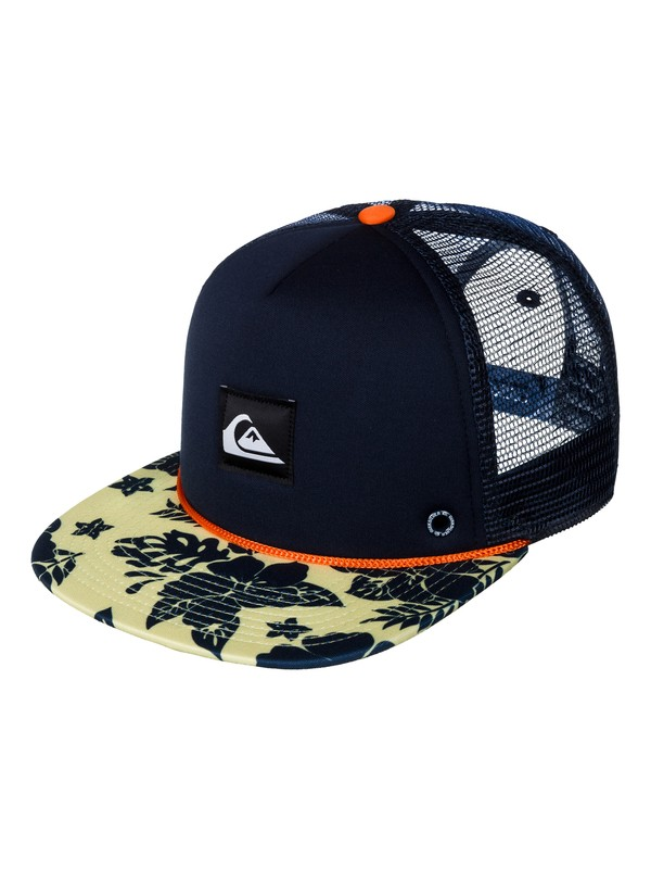 0 Slappy Trucker Hat  AQYHA03055 Quiksilver
