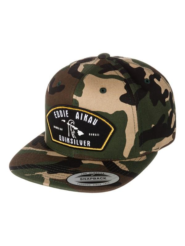 0 Eddie Snapback Hat  AQYHA03075 Quiksilver