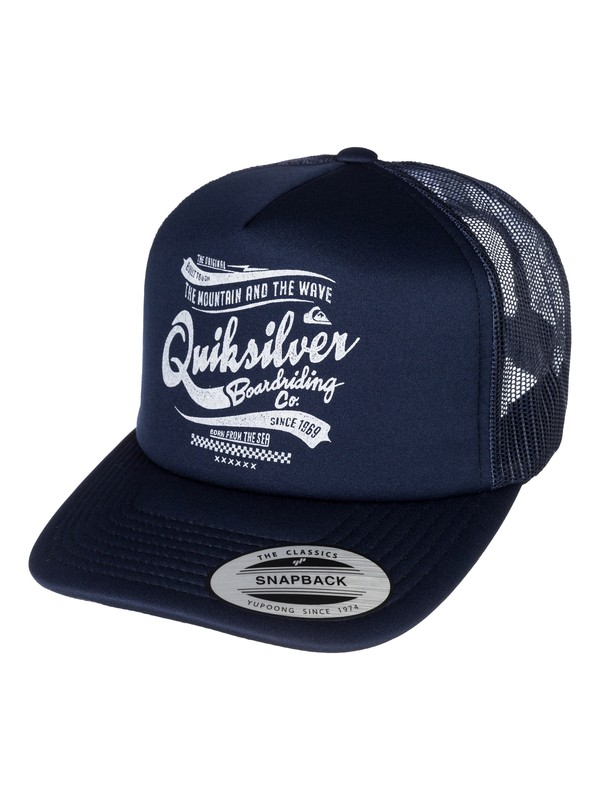 0 Barber Shop Hat  AQYHA03117 Quiksilver