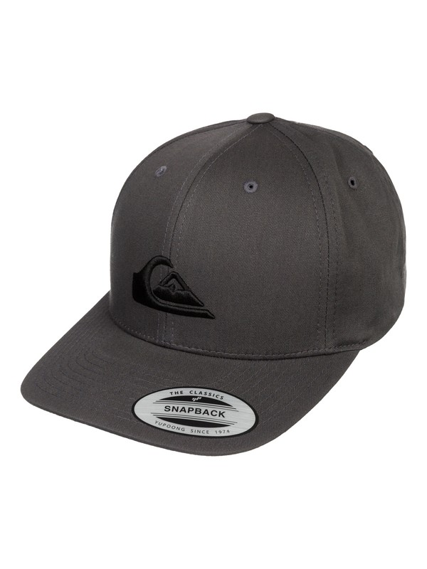 0 Decades - Cotton snapback cap  AQYHA03139 Quiksilver