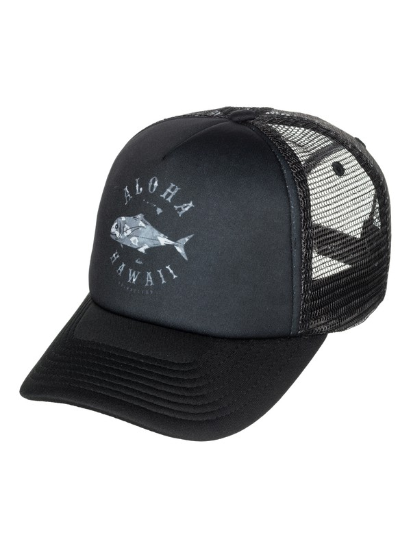0 Uluha Aloha Trucker Hat  AQYHA03187 Quiksilver