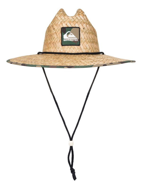 0 Outsider Straw Lifeguard Hat Brown AQYHA03218 Quiksilver