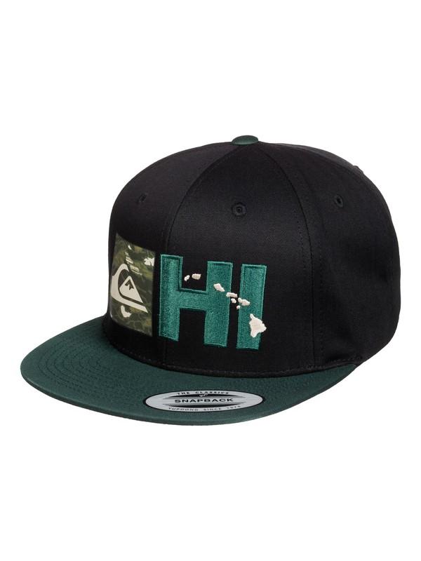 0 Hi Reflective Flexfit Snapback Hat  AQYHA03227 Quiksilver
