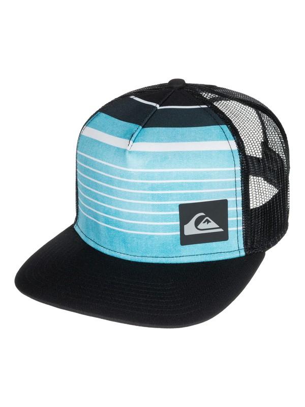 0 Vertical Printed Trucker Hat  AQYHA03273 Quiksilver