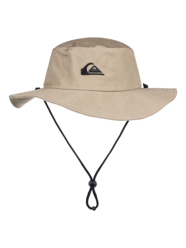 0 Bushmaster Safari Hat Brown AQYHA03314 Quiksilver