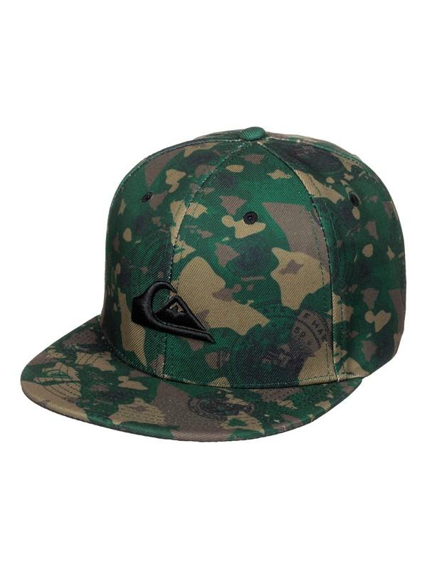 0 Union Snapback Hat  AQYHA03332 Quiksilver
